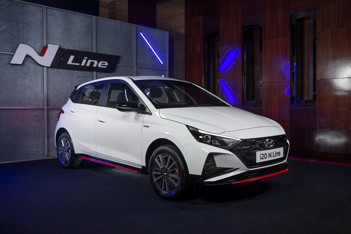 The i20 receives subtle cosmetic tweaks and refreshed interiors