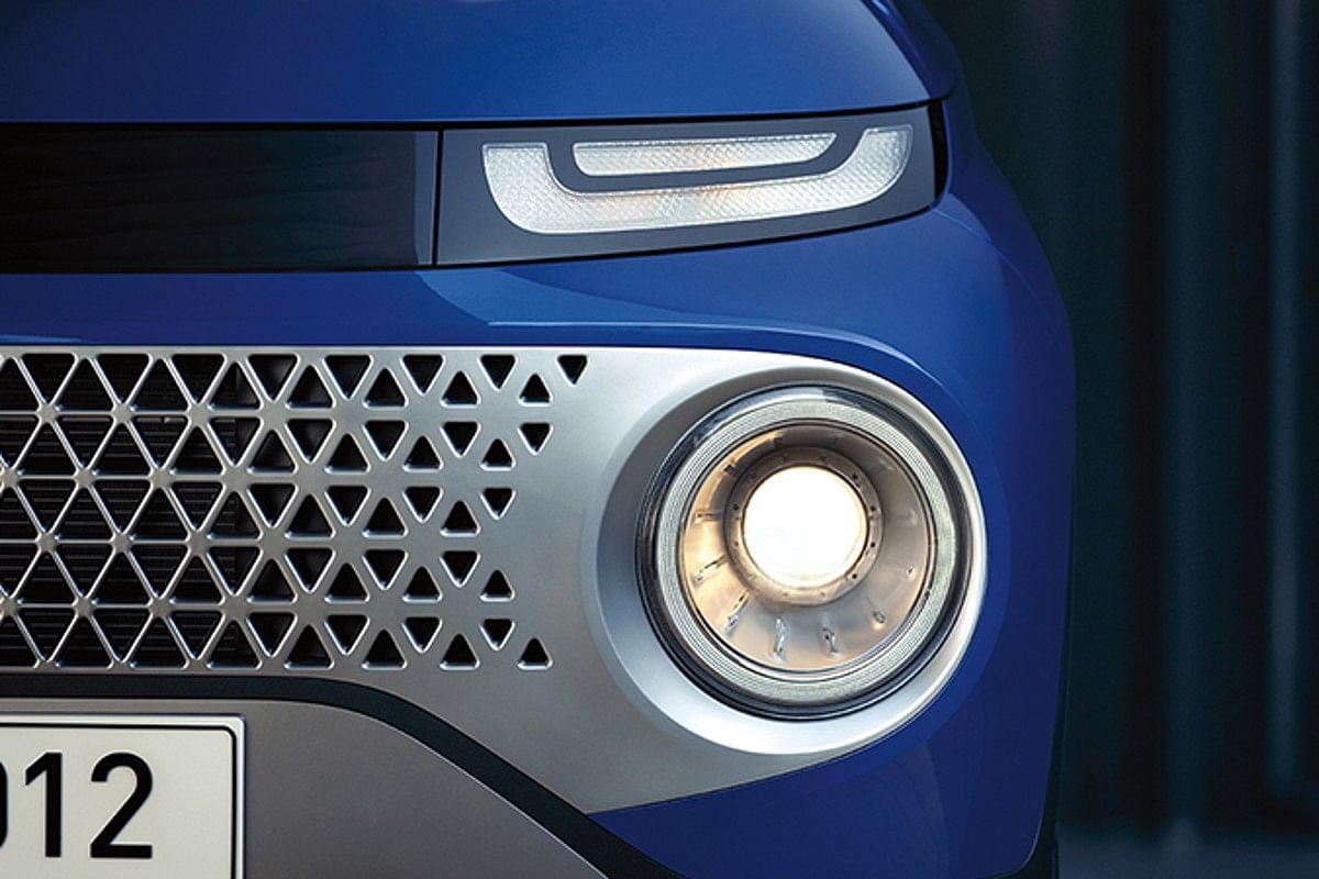 Casper gets a headlamp arrangement similar to the Hyundai Venue