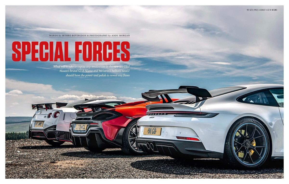 Track-focused supercars for the road is a recipe for the ultimate #ThrillOfDriving