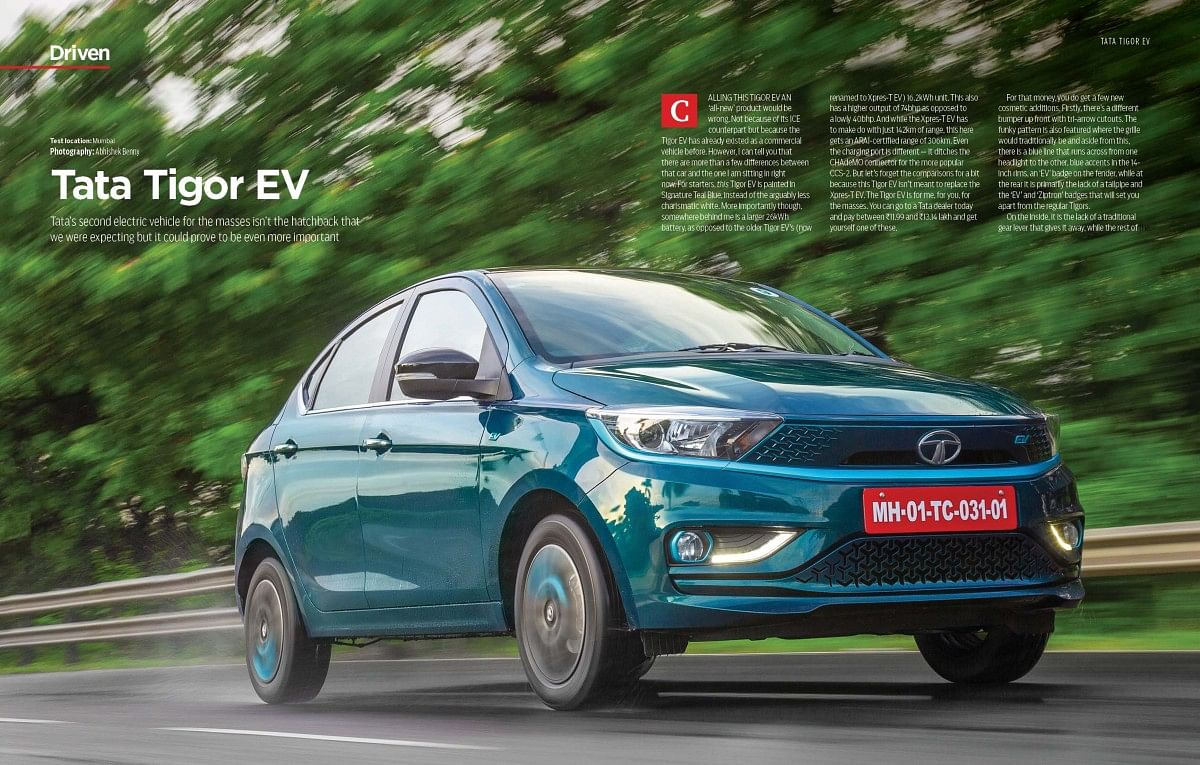 The homegrown Tigor EV is the country's most affordable elctric car yet!