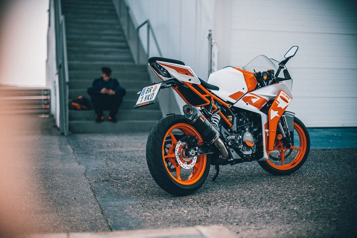 The KTM RC 125 will be available from November 2021