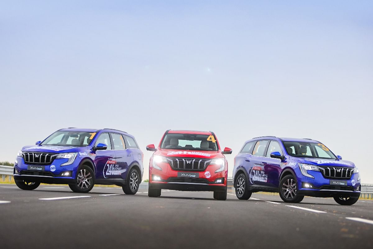 24 Hours Speed Endurance Challenge: Flagging off the XUV700