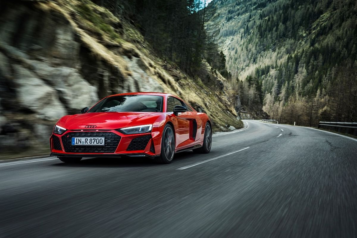 The new Audi R8 V10 Performance RWD now produces 560bhp