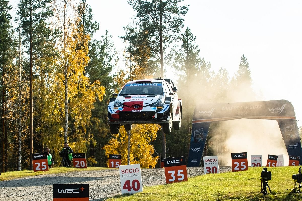 Evans was under severe pressure from Ott Tanak in the final two stages, but the Brit held his nerve to win the race and became the second Brit to win at Finland since Kris Meeke's win in 2016.