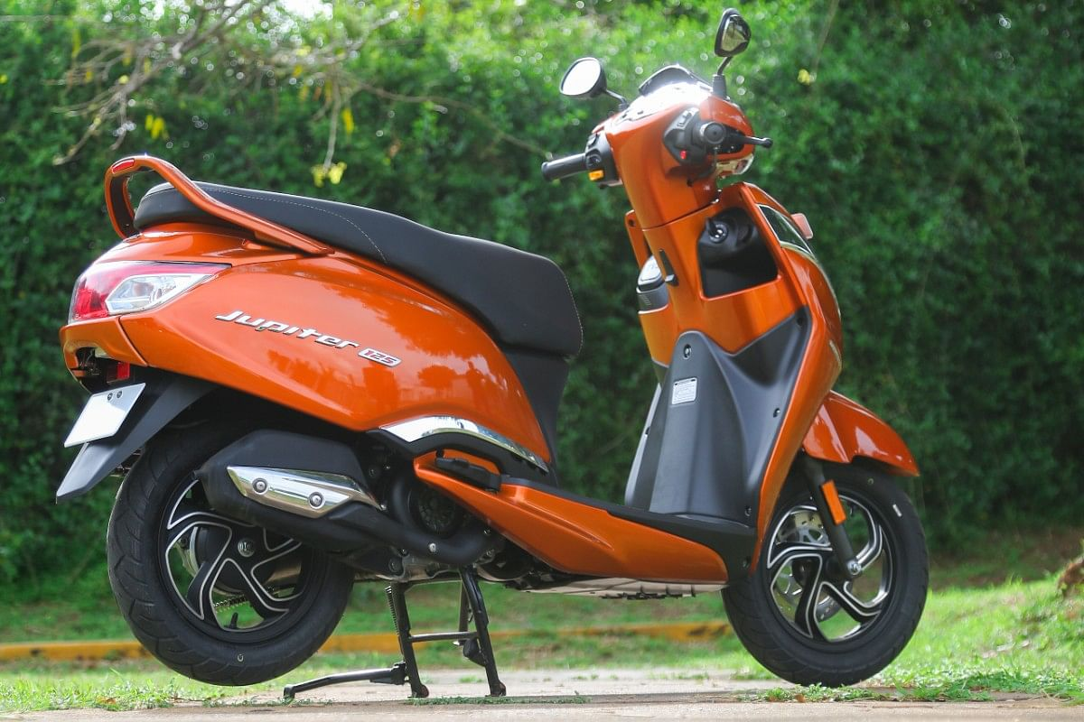 The TVS Jupiter 125 is a very attractive proposition