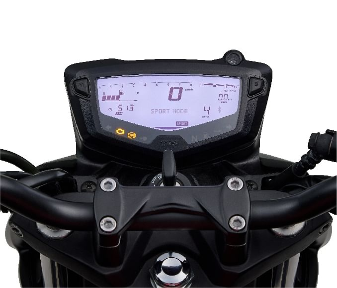 The updated instrument cluster now gets a gear shift indicator