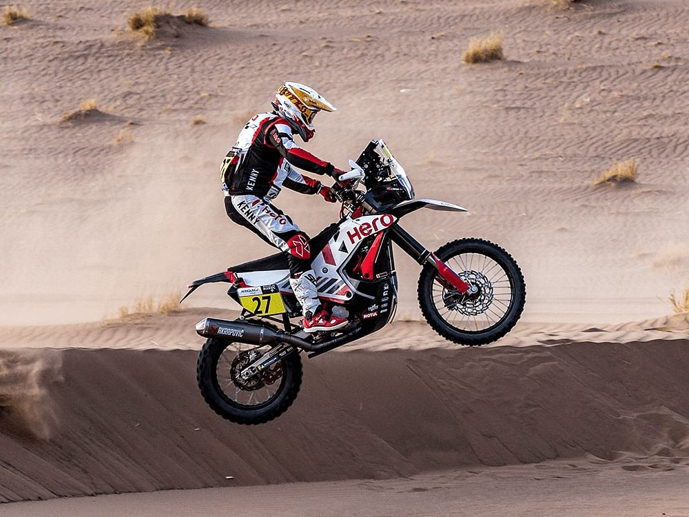 Hero MotoSports completes 2021 Rallye Du Maroc with a top 10 finish