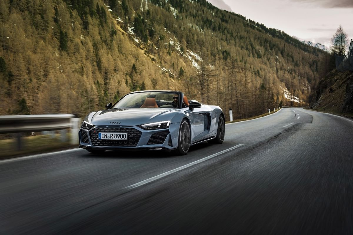 The top speed of the Audi R8 V10 Performance RWD  has increased to 328kmph