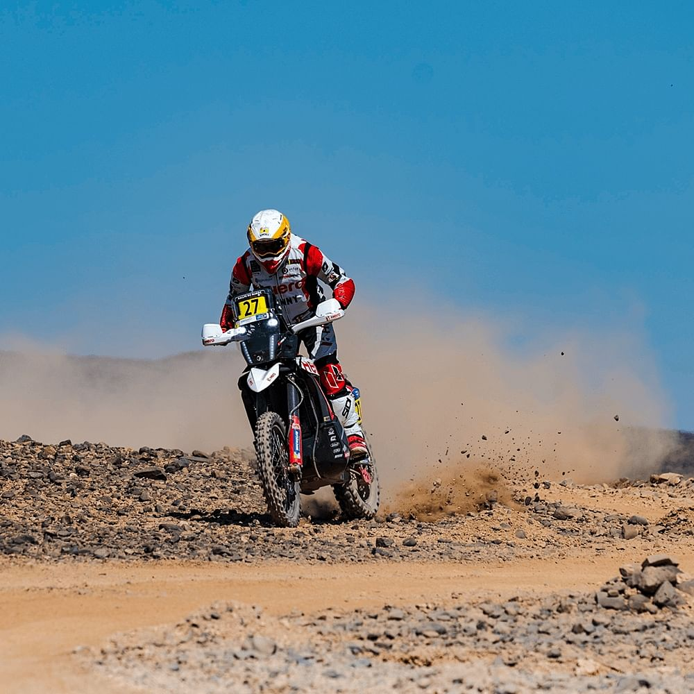 By winning the Prologue Stage, Joaquim will open the first stage that will put his navigation skills to the test.