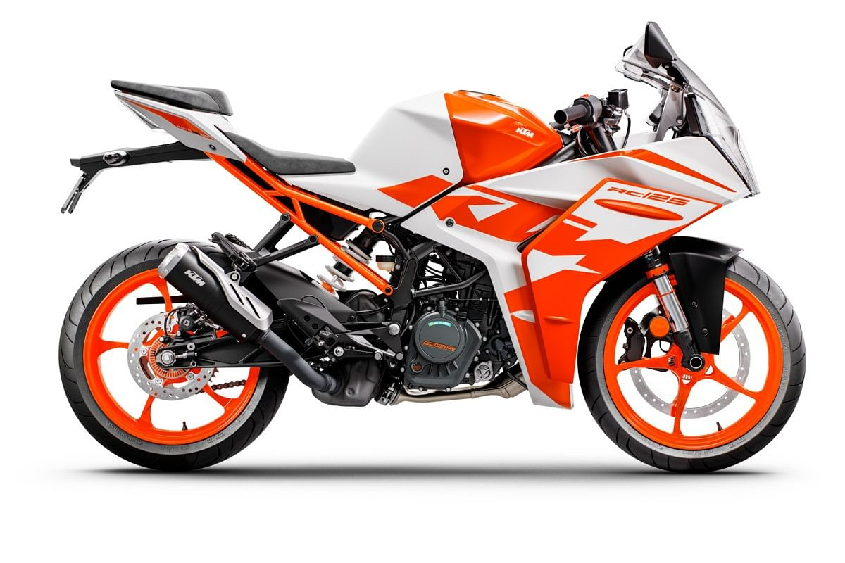The second colour on the RC 125 will be this Ceramic White