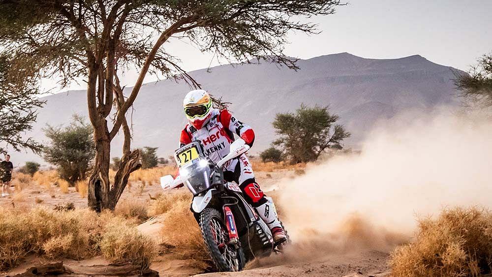 J-Rod climbs to top five in Stage 4 for Hero MotoSports | 2021 Rallye Du Maroc Rundown