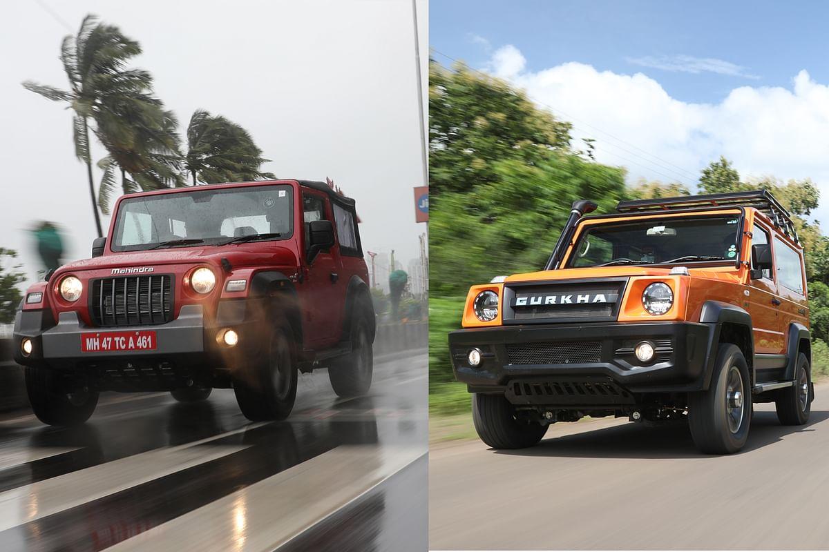 2021 Force Gurkha vs Mahindra Thar: spec comparison