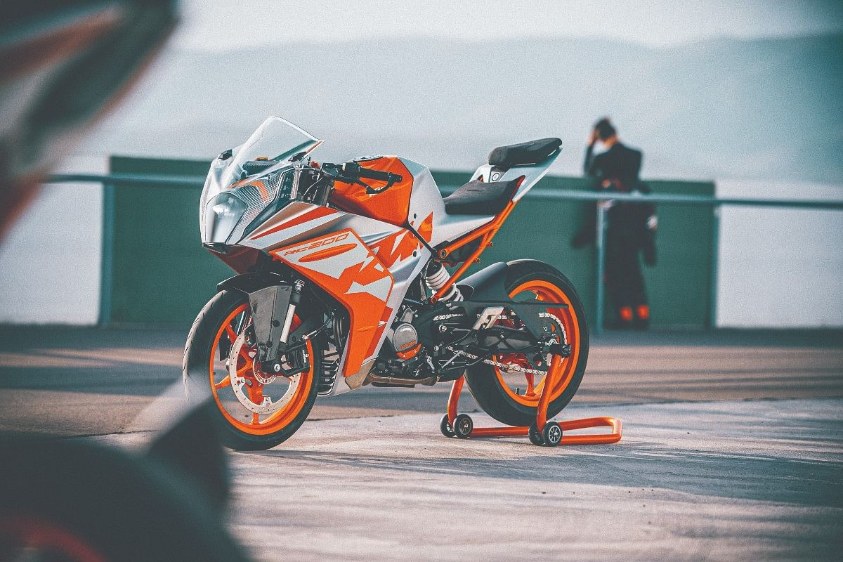 The 2022 KTM RC now looks fresher and more aggressive