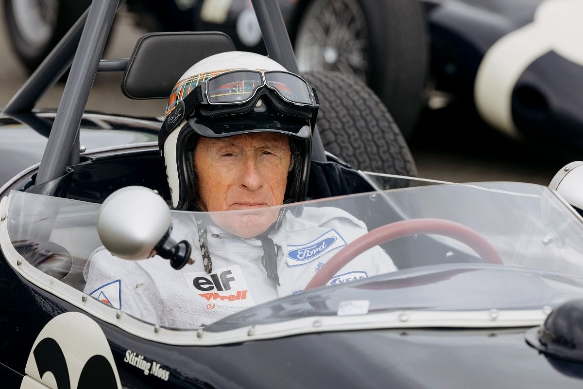 Rolex Testimonee for 53 years and three-time FIA Formula 1 Drivers' World Champion Sir Jackie Stewart