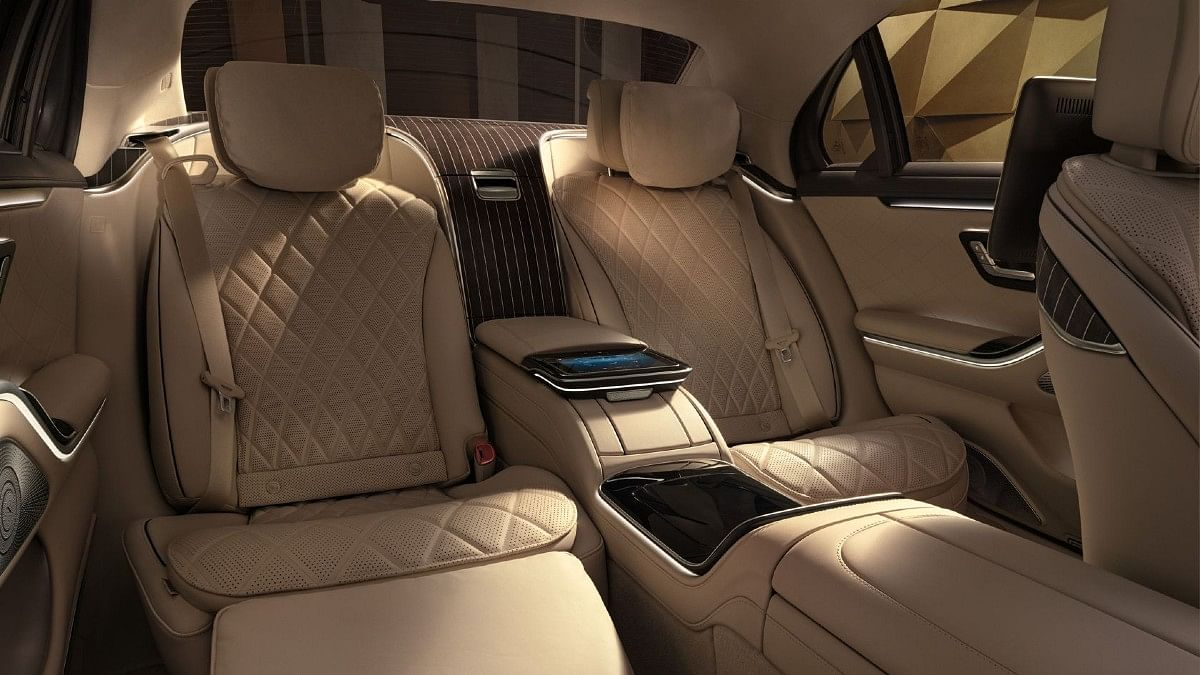 The Mercedes-Benz S-Class gets rear captain seats for ultimate comfort and luxury