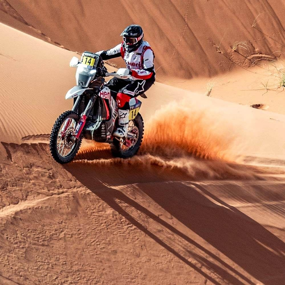 Caimi, who was the lead finisher for Hero MotoSports in Round 1, now plans to use the rest of the rounds as testing grounds for the 2022 Dakar Rally.
