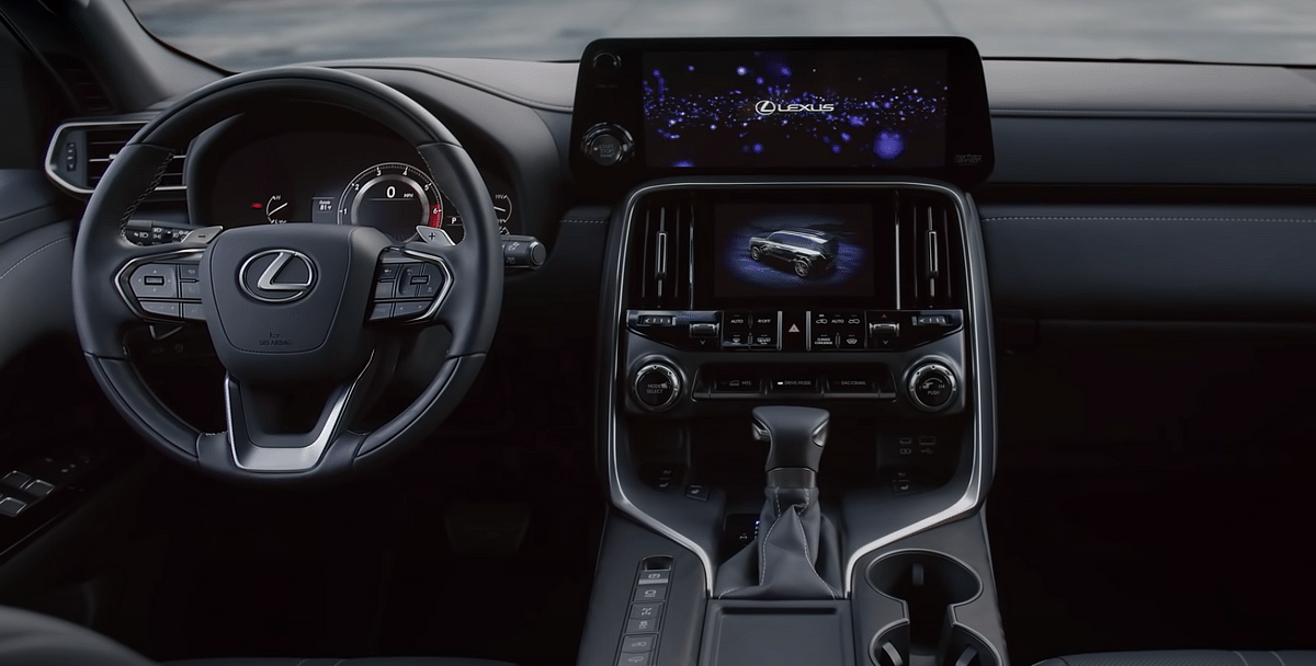 The Lexus LX 600 gets dual infotainment screen and an 8-inch digital cluster