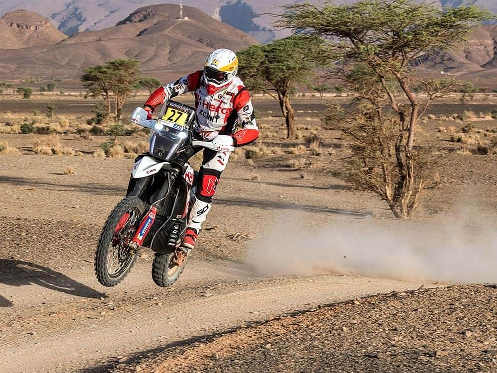 Hero MotoSports bounces back strong in Stage 3 of 2021 Rallye Du Maroc