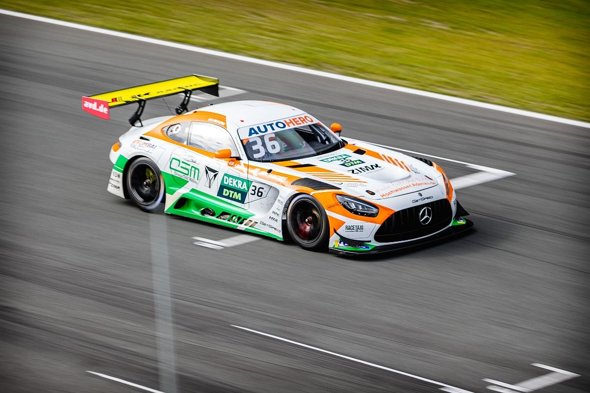 """""""And it's a little more wheel-to-wheel contact in DTM and is a little bit more aggressive because it's easier not to get damage. But on the other hand it is not as clean as single-seater racing. """""""