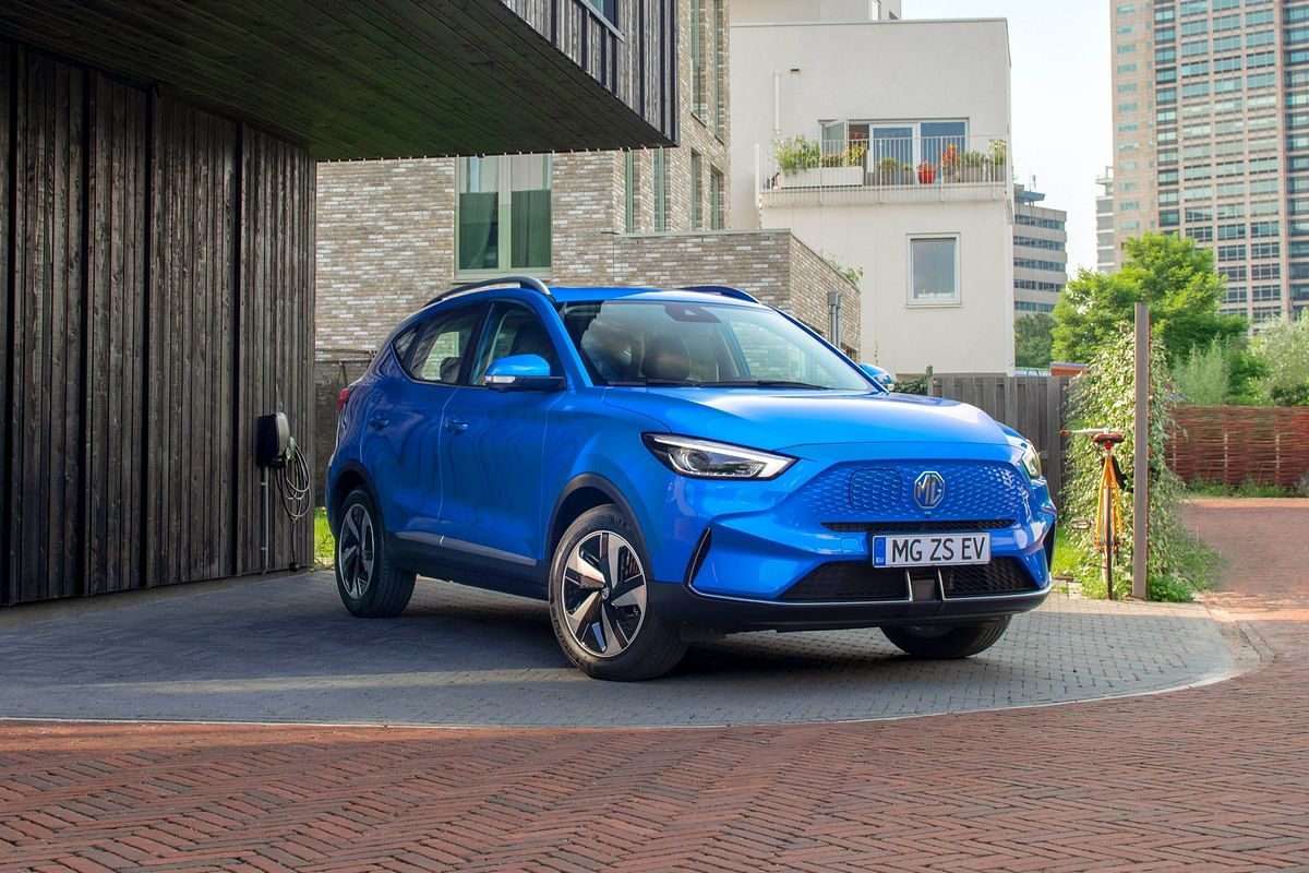 MG ZS EV facelift unveiled globally