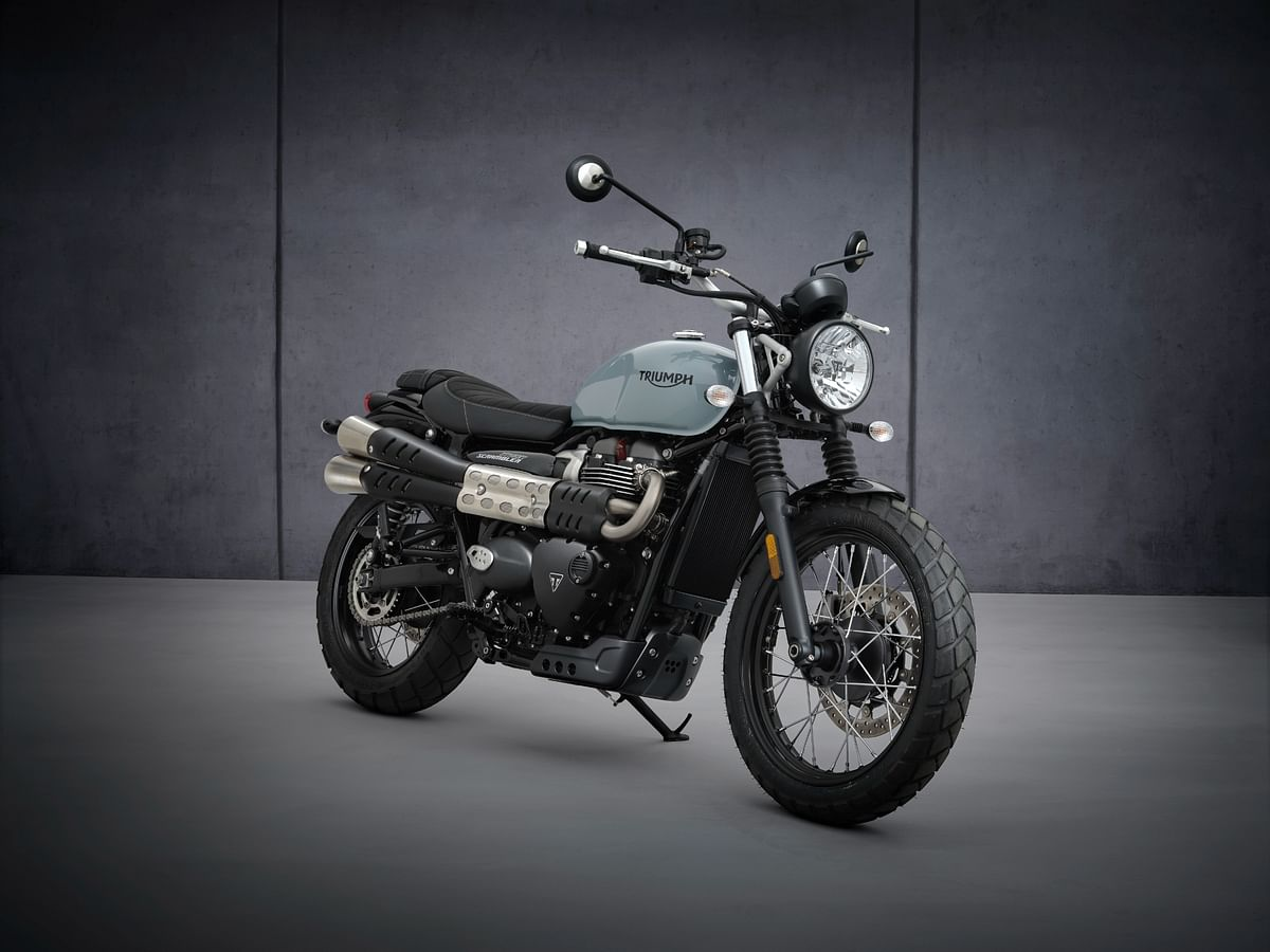 2021 Triumph Street Scrambler launched at Rs 9.35 lakh