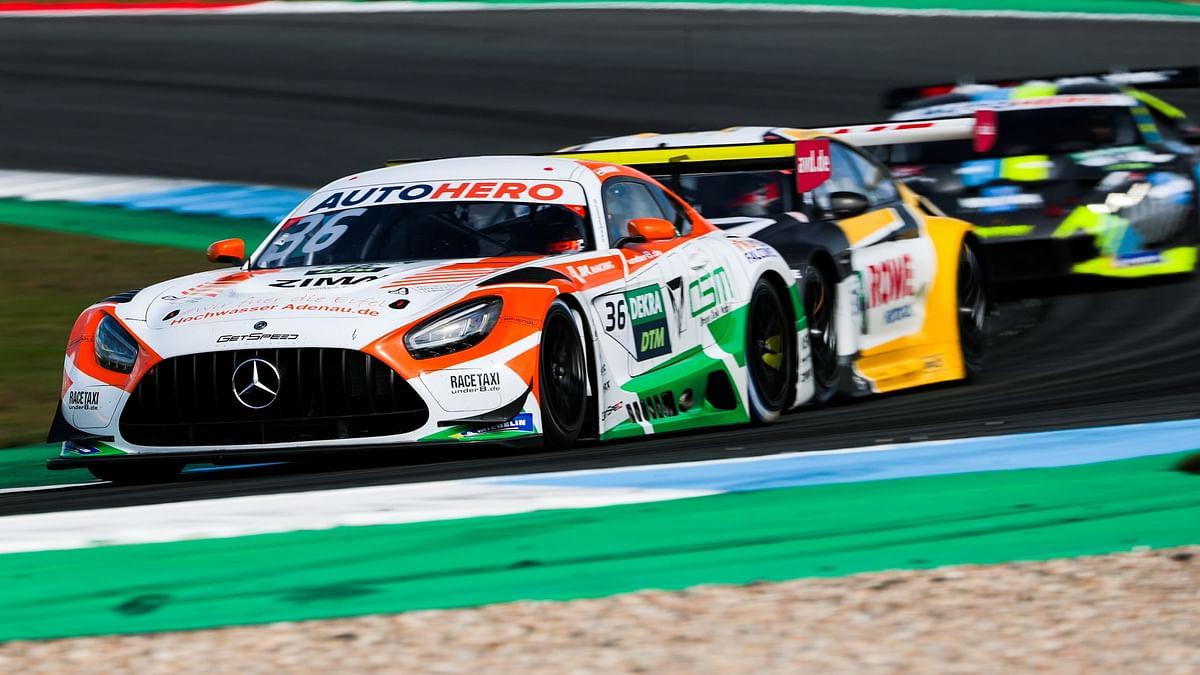 Arjun Maini faces a mixed bag experience at DTM Hockenheimring