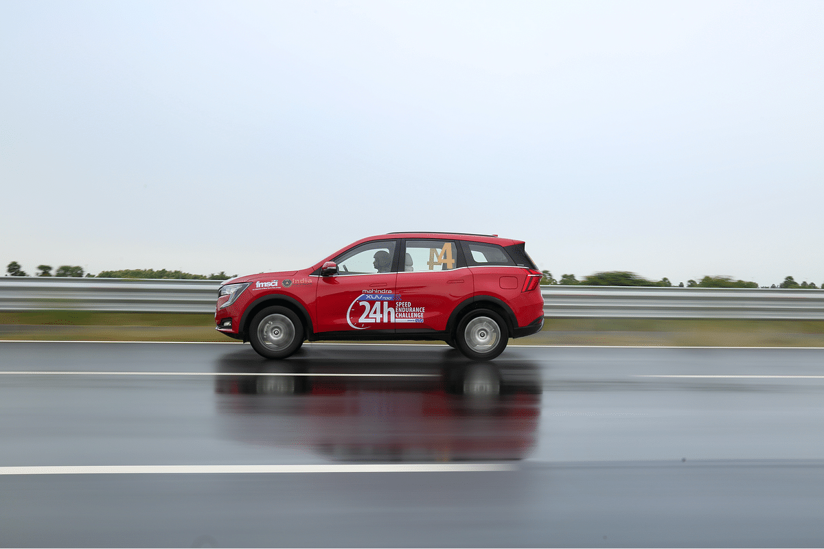 24 Hours Speed Endurance Challenge: Breaking national records with the XUV700!