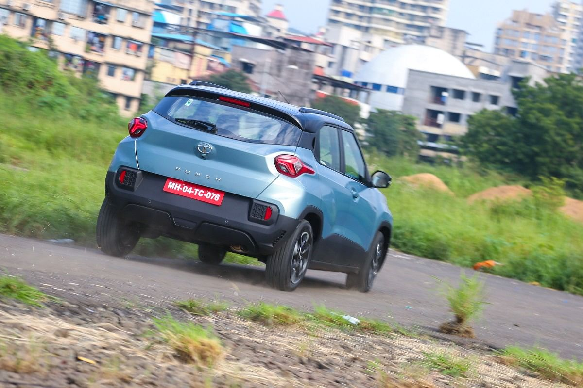 The brilliant ride of the Tata Punch does compromise the handling a bit