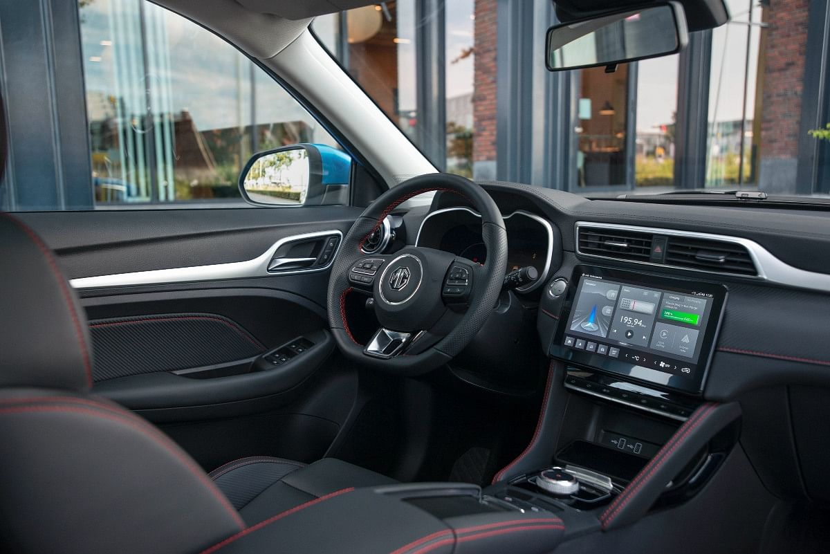 ...but you will find a larger 10.1-inch touchscreen infotainment system