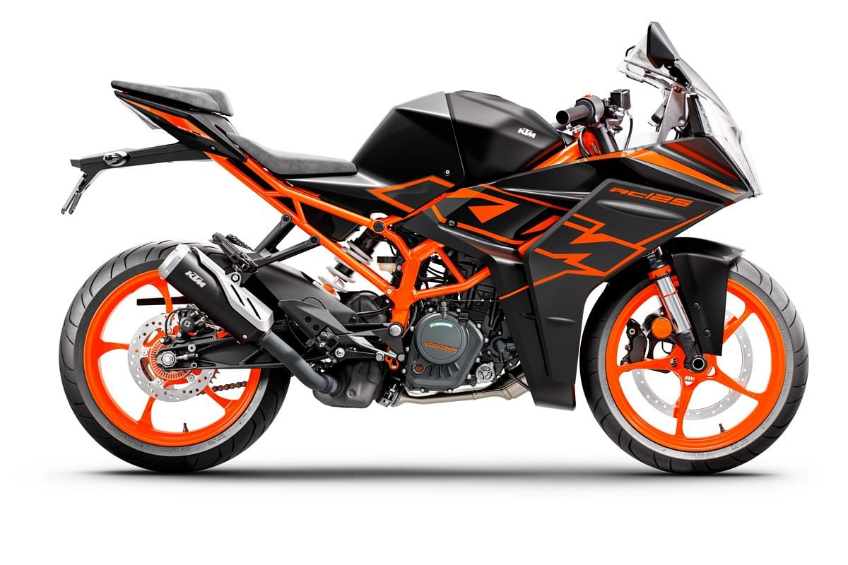 The Dark Galvano colour will be available on both the RC 200 and the RC 125
