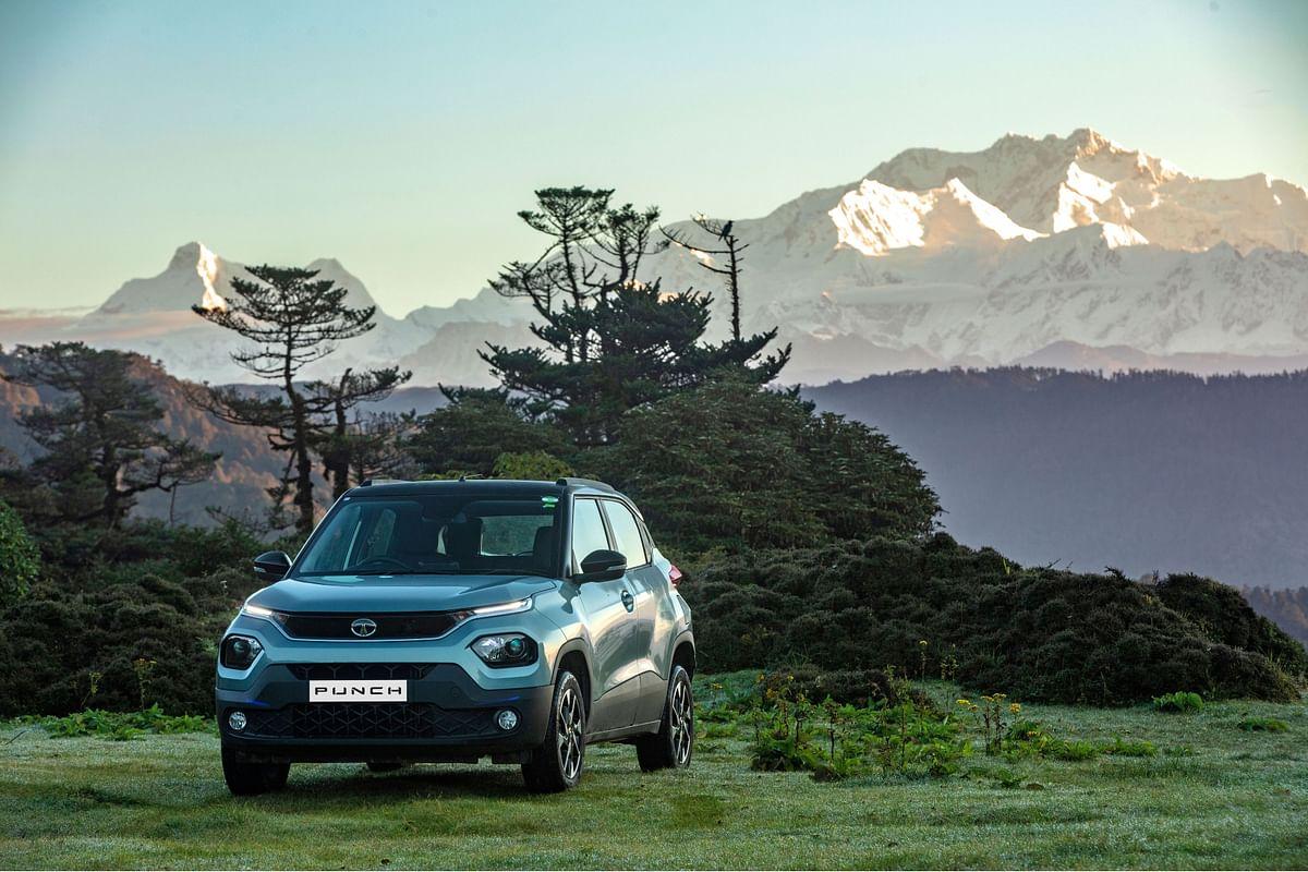 """The Tata Punch is a legitimate SUV,"" says Martin Uhlarik, Head of Global Design, Tata Motors"