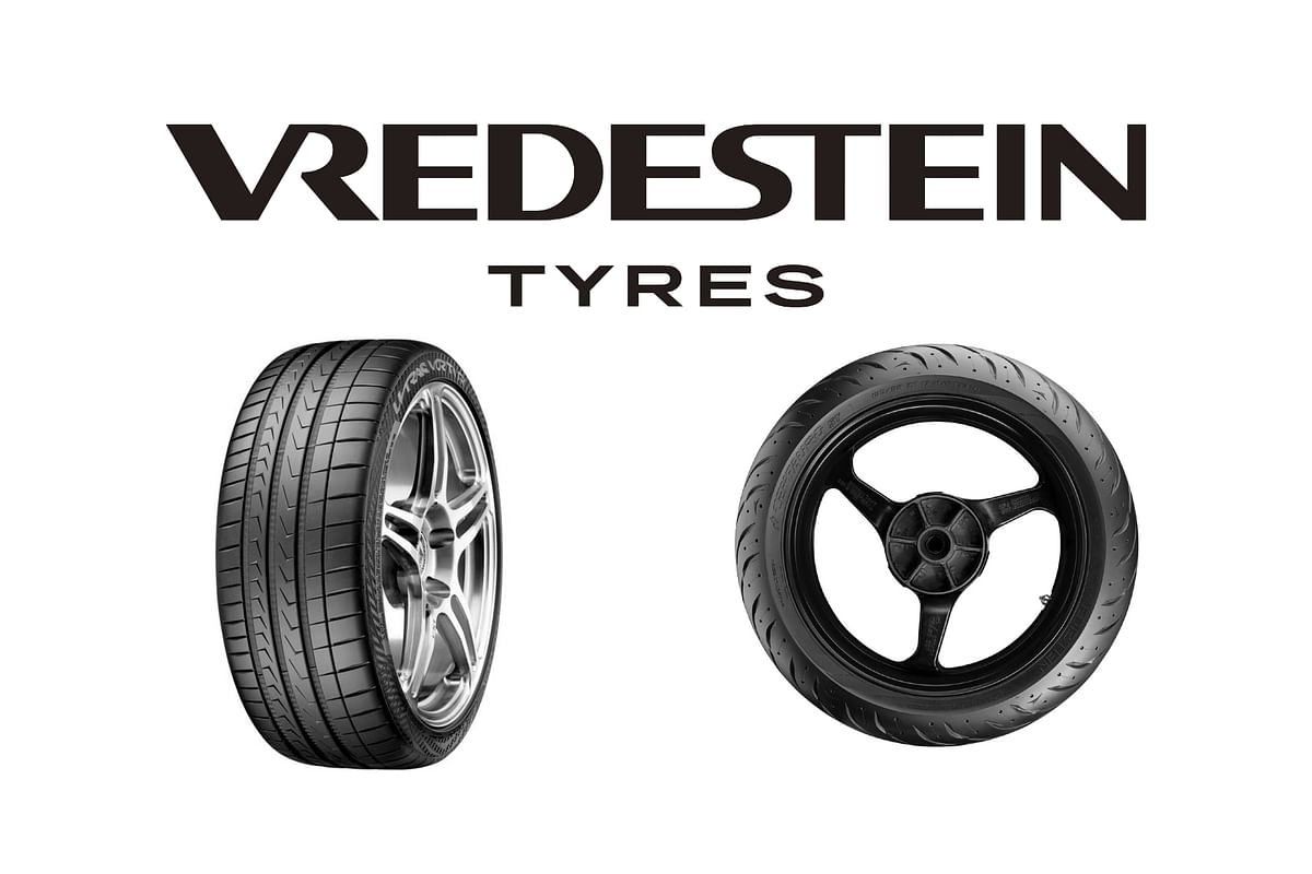 Vredestein Tyres will sell premium tyres for motorcycles and cars