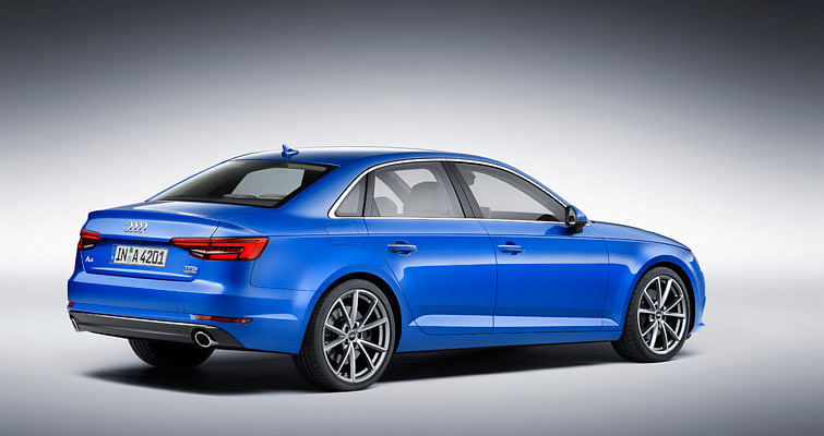 Audi takes the wraps of the new Audi A4