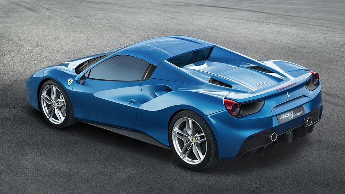 Ferrari reveals new drop-top 488 Spider