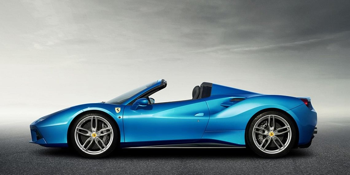 Ferrari reveals new drop-top 488 Spider