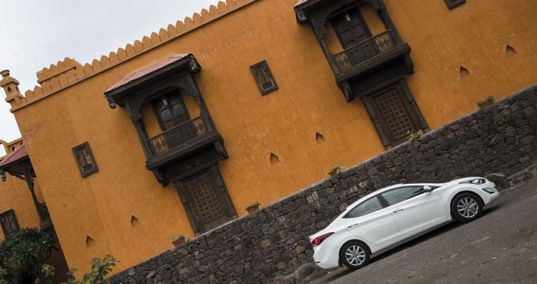 The High Life in a Hyundai Elantra