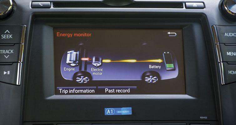 Toyota Camry Hybrid Driven