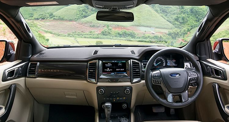 Interior quality is a huge step up from old Endeavour.