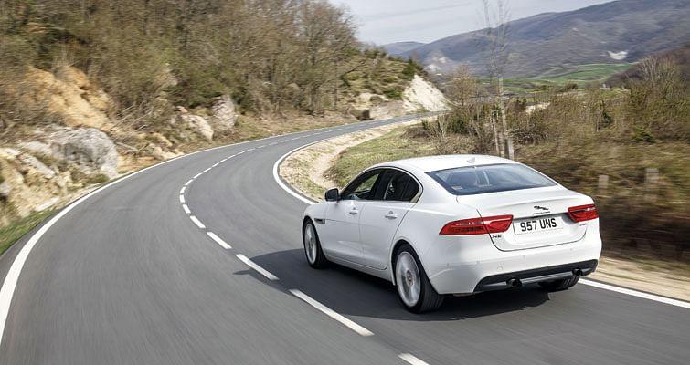 Jaguar XE Driven