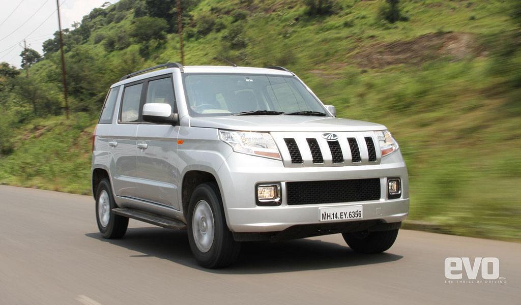 Mahindra TUV3OO Driven