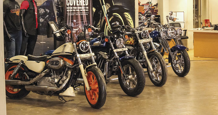 Nine-Bridges Harley-Davidson, Ahmedabad -Evo India