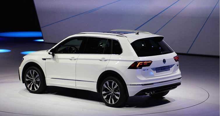 New Volkswagen Tiguan at IAA 2015