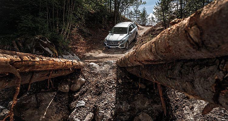 Mercedes-Benz GLE-Class driven