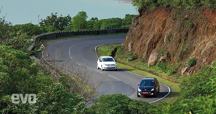 Abarth Punto Evo  v VW Polo GT TSI