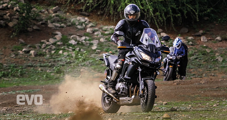 Tiger, Versys, V-Strom Review