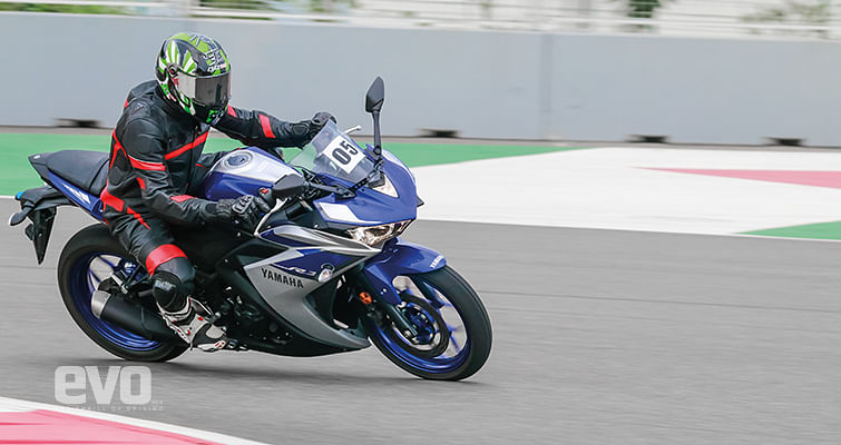 How commited is it?   Yamaha YZF R3 Ridden