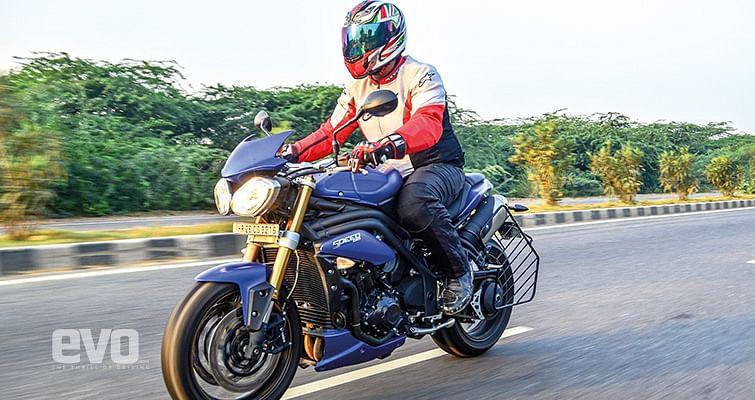 Triumph Speed Triple Ridden