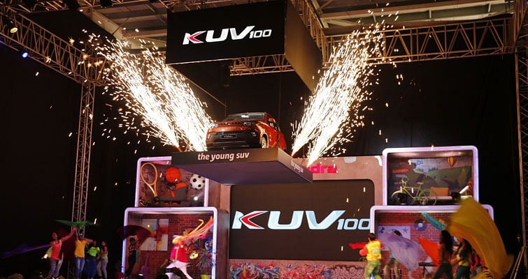 KUV100 launched by Mahindra at 4.42 lakhs (ex-Pune)
