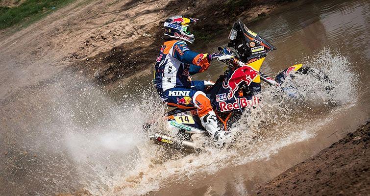 2016 Dakar – Stage 2: Suzuki backed Santosh finishes 95th