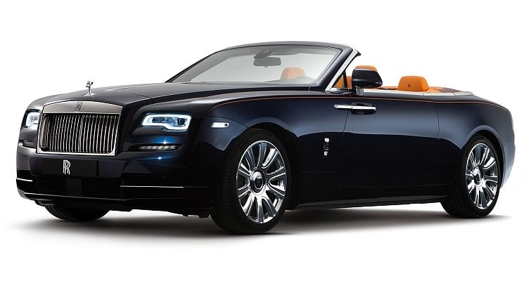 Rolls-Royce Dawn launched at Rs 6.25 crore
